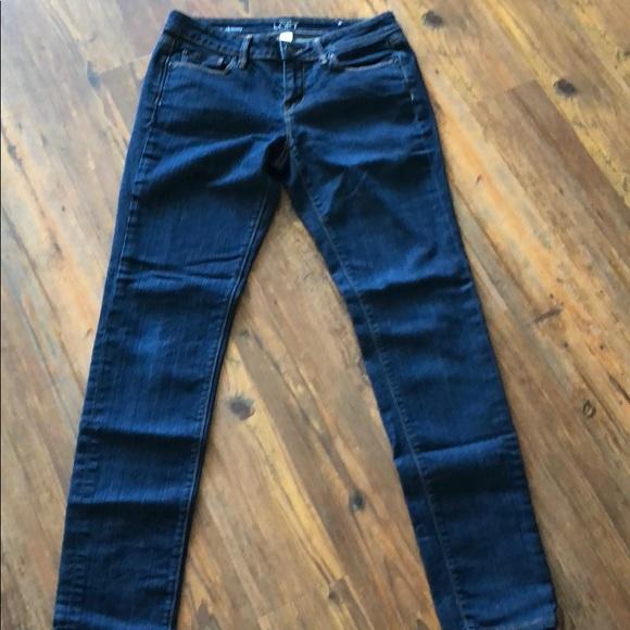 LOFT Denim - Loft size 4 modern skinny jeans dark wash